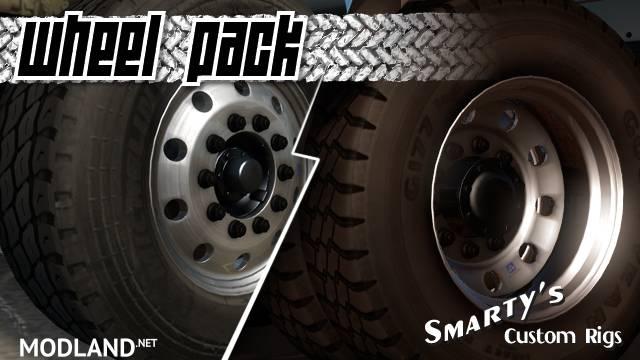 Smarty Wheels Pack v1.2.6 for ETS2 [1.27-1.31 & up]