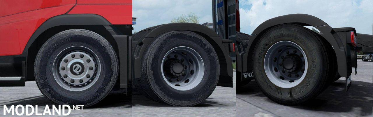Wheels 50k Dirt Rework v1.0 (1.27 - 1.31)