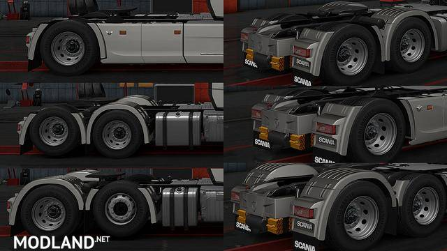 New Rear Fender Scania 2016 R And S Mod For Ets 2