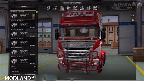 Powerful Engine Scania R Mod For Ets 2