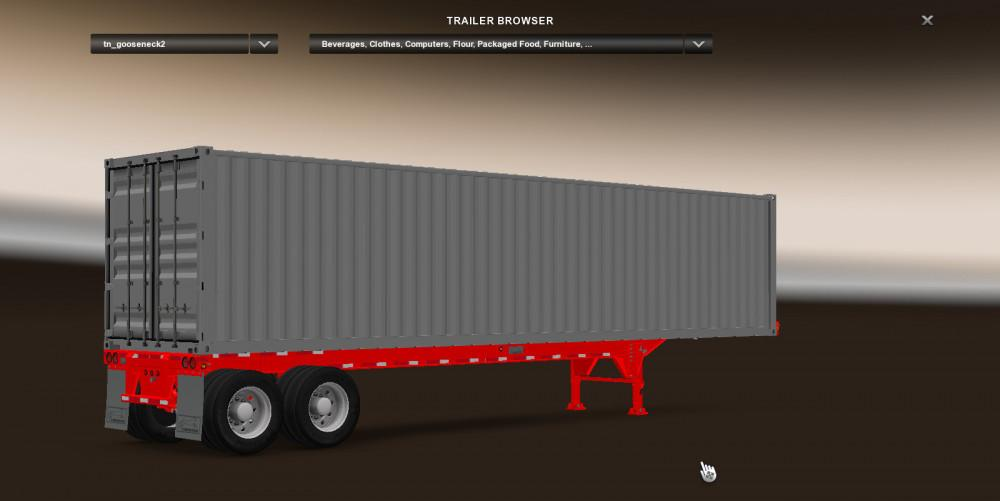 Container Chassis Lights : Rta container chassis paint mod for ets