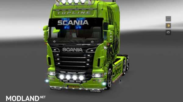 scania rs sunshield mod for ets 2. Black Bedroom Furniture Sets. Home Design Ideas