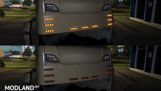Sunshield Scania Next Gen mod for ETS 2