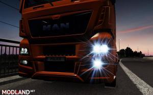 MAN TGX Euro 6 – Working fog light 1.34 – 1.35 - External Download image