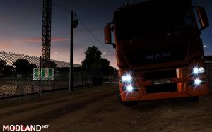 MAN TGX Euro 6 – Working fog light 1.34 – 1.35, 2 photo