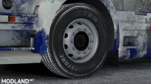Snowy Bridgestone Tire by ARADETH - External Download image