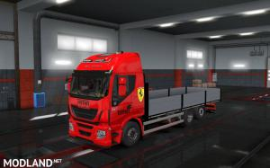 Flatbed Addon For Tandem for Rigid chassis pack for all SCS trucks, 1 photo