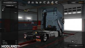 Low deck chassis addon for Eugene Volvo FH by Sogard3 v1.4 [1.35], 2 photo