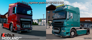 Lightbars for DAF XF 105 & 106 v 1.2 (1.28)