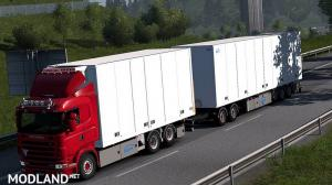 Tandem Addon for RJL Scania RS & r4 by Kast (1.33.x)
