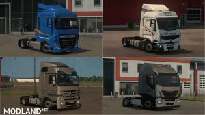 Low deck chassis addons for Schumi's trucks by Sogard3 v3.5 1.35-1.36, 2 photo