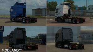 Low deck chassis addons for Schumi's trucks by Sogard3 v3.5 1.35-1.36, 1 photo