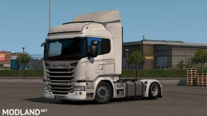 Low deck improved chassis for RJL's Scania R&S, R4, P&G v1.4 [1.35], 1 photo