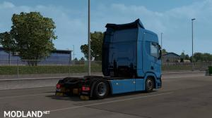 Low deck chassis addon for Eugene Scania NG by Sogard3 v 1.1 [1.35], 3 photo