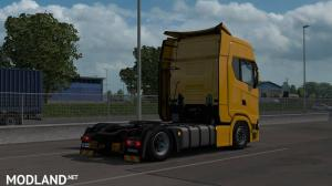 Low deck chassis addon for Eugene Scania NG by Sogard3 v1.2 [1.35], 2 photo