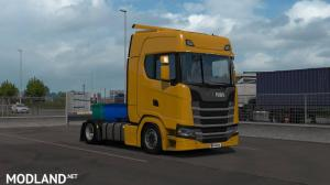 Low deck chassis addon for Eugene Scania NG by Sogard3 v1.2 [1.35], 3 photo