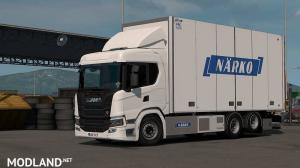 Rigid Chassis Addon for Eugene's Scania NG by Kast v 1.2.2 1.35 & higher, 1 photo