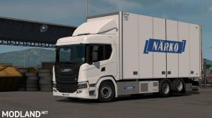 Rigid Chassis Addon for Eugene's Scania NG by Kast v 1.2.1 1.35+, 1 photo