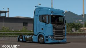 Low deck chassis addon for Eugene Scania NG by Sogard3 v1.2 [1.35], 1 photo