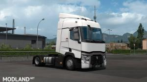 Low deck chassis addon for SCS Renault Range T v1.2 [1.35], 1 photo