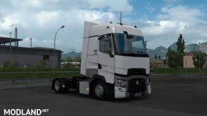 Low deck chassis addon for SCS Renault Range T v1.2 [1.35], 2 photo