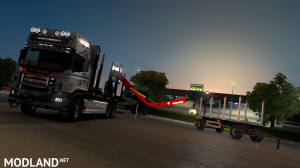 Scania R RJL Rigid Forest Parts, 7 photo