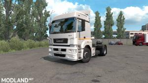 SISL Mega Pack support for Kamaz 5490, 1 photo