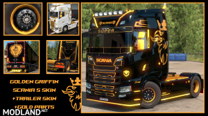 Golden Griffin Scania S parts and Skins, 1 photo