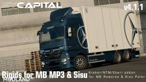 Rigid chassis for MB MP3 & Sisu Polar Mk1 ByCapital v4.1.1