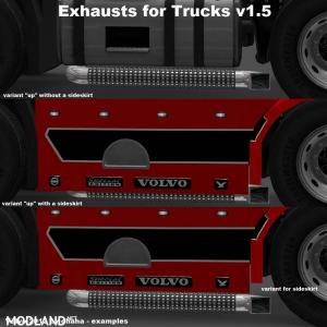 Exhausts for Trucks v 1.35 by Nico2k4, 4 photo