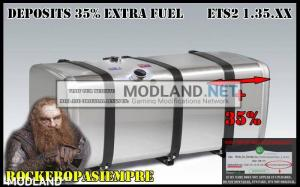 Deposits 35% Extra Fuel by Rockeropasiempre Ets2 v 1.35.x, 1 photo
