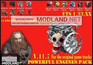 Pack Powerful engines + gearboxes V.11.7 for 1.33.x, 1 photo