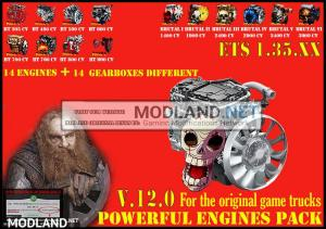 Pack Powerful engines + gearboxes V.12.0 for 1.35.x, 1 photo