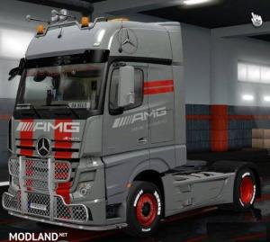 Mercedes Benz Actros MP4 AMG Tuning Mod 1.35, 1 photo