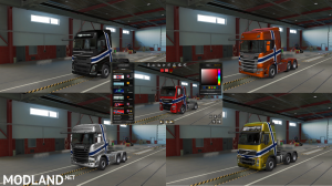 Norwegian Paint Job Coloreable [MP-SP] [Multiplayer] [TruckersMP]