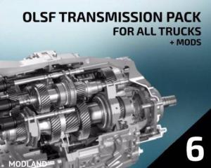 OLSF Dual Clutch Transmission Pack 6 for All trucks