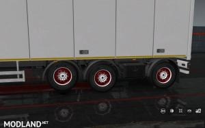 Painted Wheels for Trailers, 1 photo