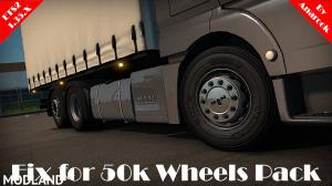 Fix for 50k Wheels Pack [ETS2 1.35.x], 1 photo