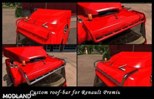 Roofbar add-on for Renault Premium by Obelihnio v 1.2 (1.27.x), 1 photo