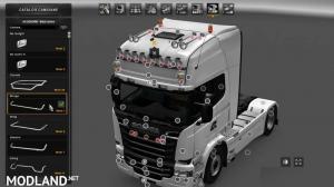 Scania RJL Custom Roofgrill, 1 photo