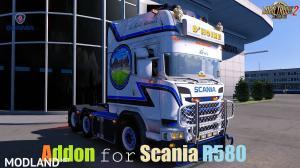 Addon Scania R580 D'Hoine Eng&GB