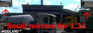 Small mirrors for 1.32