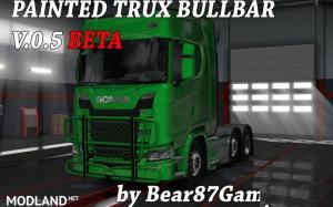 Painted Trux Bullbar NexGen Scania S&R , 1 photo