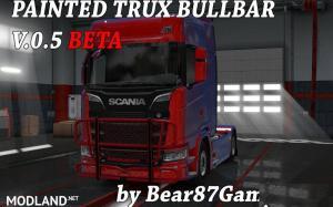 Painted Trux Bullbar NexGen Scania S&R , 2 photo