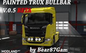 Painted Trux Bullbar NexGen Scania S&R , 3 photo
