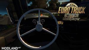 [Multiplayer] Vabis Steering Wheel for all Truck's (1.30/1.31)