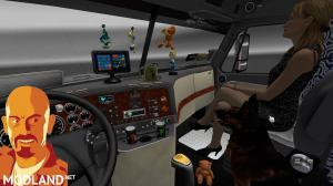 FREIGHTLINER CASCADIA ADDON ETS2 1.27.x & ATS 1.6.x, 2 photo