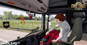 Animated passenger in truck (with you) V2.1 (1.36), 2 photo