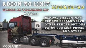 BC-Addon no limit [Works at Truckers MP] v3.0 1.34.x, 1 photo