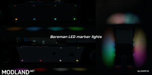 [ETS/ATS] Boreman LED Marker Lights v1.4 [11.07.2018], 1 photo
